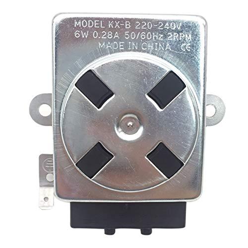 Propaanslang Propaangas LPG elektrische 6 watt vrijstaande BBQ oven grill synchrone motor