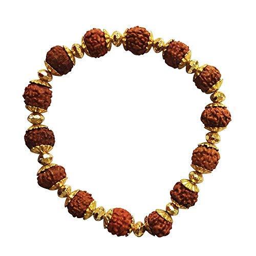 SataanReaper Presents Rudraksha Bracelet Original Rudraksha Beads for Men, 15 Grams, Pack of 1#SR-2554