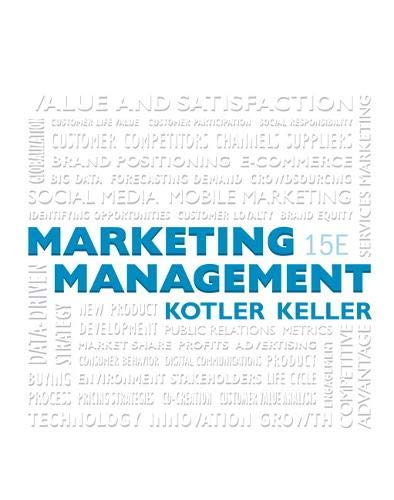 MARKETING MGMT REV/E 15/E (Marketing Management)