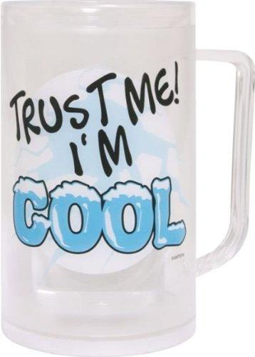 Dakota - Chope a biere refrigeree (double paroi) TRUST ME I'M COOL
