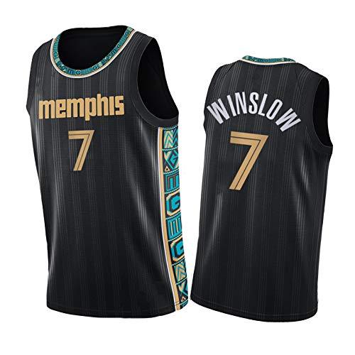 JRTB 7# Winslow - Camisetas de baloncesto Grizzlies Jerseys, New Season Hot Press Jerseys, Chalecos deportivos al aire libre negro-S