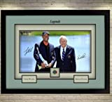 SGH SERVICES Poster Tiger Woods Arnold Palmer signiertes