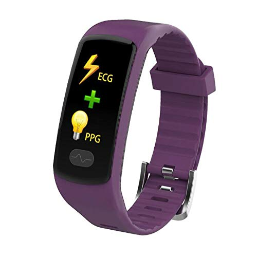 Kids Fitness Tracker met hartslagmeter Waterproof Activity Tracker horloge Sleep Monitor Fitness horloge Grote Gift,Purple