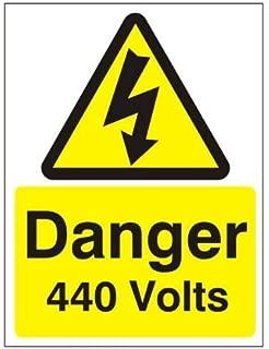 440v danger sticker