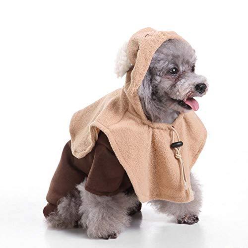 KSITH hondenkleding voor huisdieren, jas, Halloween, pompoen, M, H