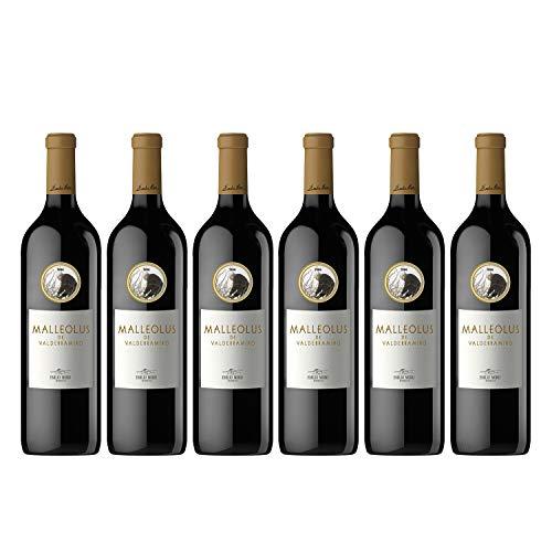 Emilio Moro Emilio Moro - Malleolus De Valderramiro, Vino Tinto, Tempranillo, Ribera Del Duero, Pack 6 Botellas De 750 Ml - 4500 ml