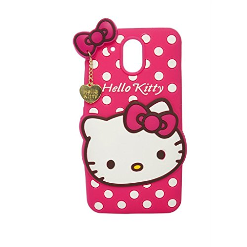Anvika Hello Kitty Back Cover for HTC Desire 526 G Plus - Pink