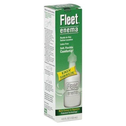Fleet Adult Enema Size 4.5z Fleet Saline Adult Enema