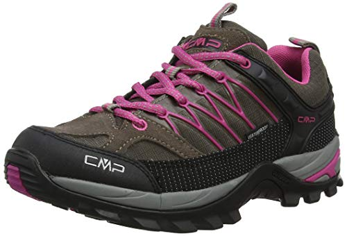 CMP Damen Rigel Low Wmn Shoe Wp Trekking- & Wanderhalbschuhe, Beige (Seppia-Geraneo 09pc), 39 EU