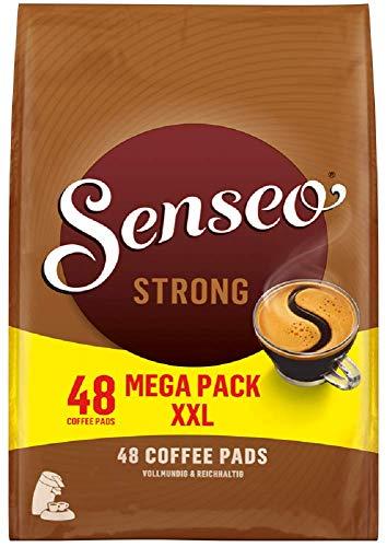 Senseo Pads Strong, 480 Kaffeepads (10 x 48 Getränke, nur für kurze Zeit, Megapack XXL) 10er Pack