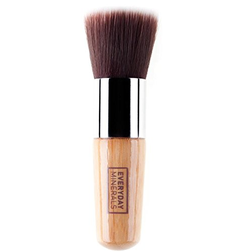 Everyday Minerals, Inc. Everyday Minerals, Flat Top Brush 0.8 x 0.8 x 4 inches by Everyday Minerals