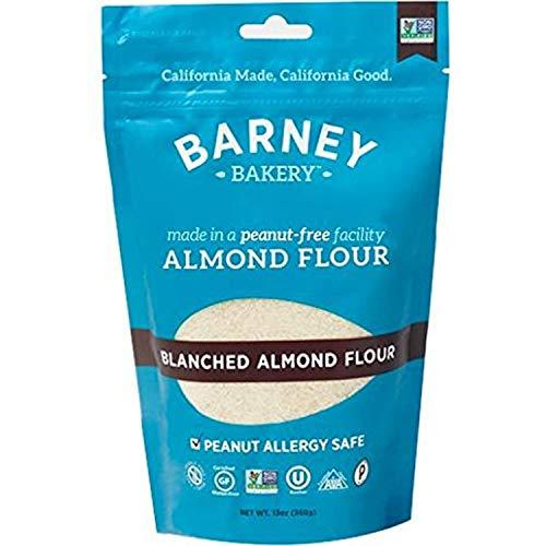 BARNEY Skin-Free Almond Flour, Paleo, KETO, Non-GMO, Peanut-Free, 13 Ounce