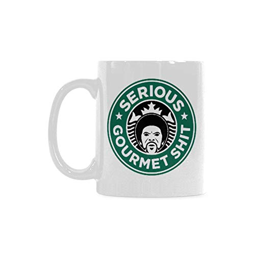 Funny Gift - Serious Gourmet Shit Coffee Mug,Tea Cup, Ceramic Material Mugs,White 11oz