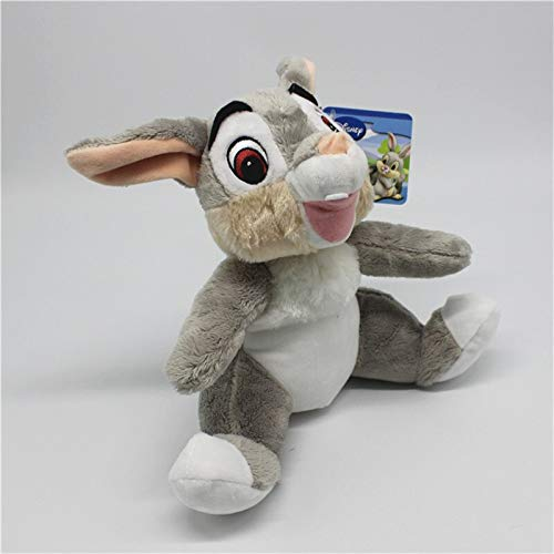 1pcs 25cm Cartoon Little Deer Friend Thumper Rabbit Plush Stuffed Animal Toy