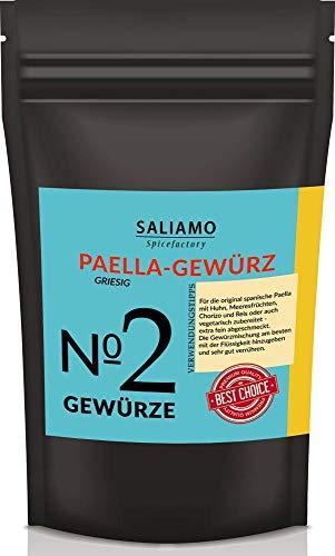 Paella-Gewürz, Paella Pfanne, Gewürzmischung, Paella Reispfanne, Paella Kräutermischung, Für Traditionelle Paella 100 g | Saliamo