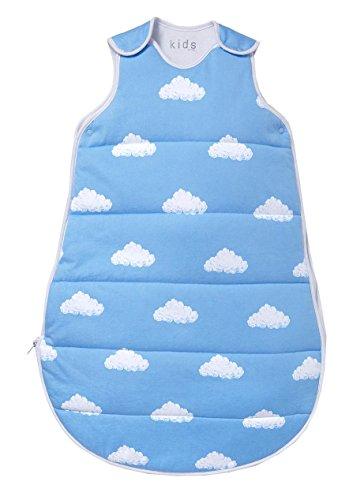 TCM Tchibo Baby Schlafsack Baumwolle Single-Jersey ca.65 cm (Blau)