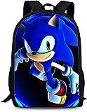 Sonic The Hedgehog Mochila, mochila escolar para niños y niñas