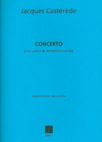 Concerto voor piano en Orchestra A snaren, piano - bestuurder