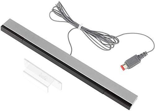 Maliralt Sensor Bar USB XF13 pour Nintendo Wii Barre de détection Wii avec Fil Récepteur de Signal Filaire Inducteur de Rayon Infrarouge Compatible Console Nintendo Wii/Wii U