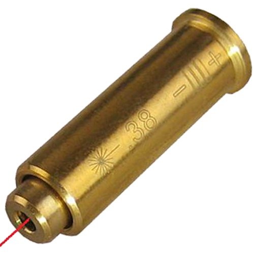.38 Special Pistol Cartridge Laser Bore Sighter