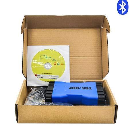 RiSheng Azul Doble PCB tcs Pro cdp 150 tcs cdp 2015R3 2016 keygen versión Bluetooth Multi-Idioma OBDII Herramienta de camión automático,Bluetooth