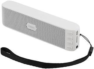 STREETZ v2.1 + EDR Bluetooth-högtalare med MicroSD och FM-radio – vit