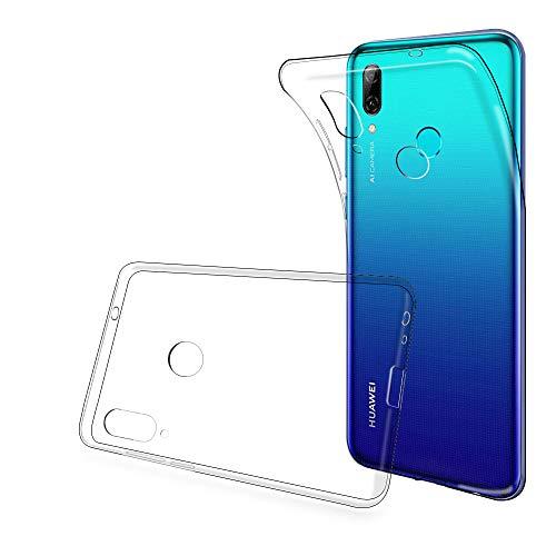 ANEWSIR Hülle für Huawei P Smart 2019, Transparent Hülle Hülle TPU Schutzhülle Dünn Schlank Weich Flexibel Anti-Kratzer Schutzhülle Abdeckung Crystal Clear Hülle Cover für Huawei P Smart 2019
