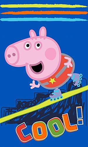 Carbotex Peppa Pig PP192061-R Kinder-Handtuch 30 x 50 cm