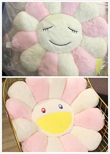 YZGSBBX Super Große Plüsch Sun Blumen Kissen Weiche Spielzeug Gefüllte Spielzeug Plüschmatten Meditation Kissen Bodenkissen für Kinder Plüschspielzeug (Color