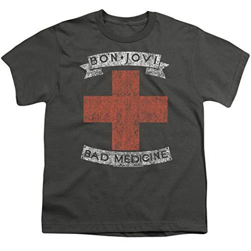 Boys or Girls Bon Jovi Bad Medicine Album Tee with Free Sticker
