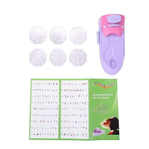 Broco Professionale fai da te Nail Art modello Manicure Tools stampatrice Stamper Nail Printer