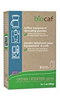 Full Circle Coffee and Espresso Machine Descaling Powder, 2 Single Use Packets by Urnex