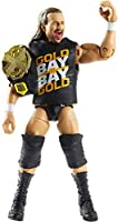 WWE Seth Rollins Fan Takeover 6-in Elite Action Figure with Fan-Voted Gear & Accessories, 6-in Posable Collectible Gift...