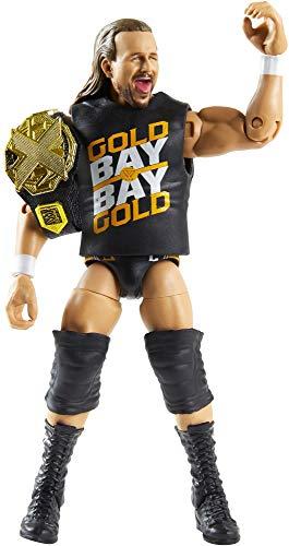 WWE Adam Cole Fan Takeover Figura de acción Elite de 15 cm con Fanvoted Gear y...