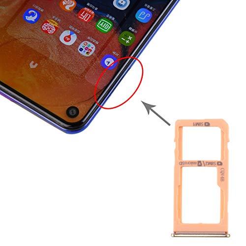 ASAMOAH Pieza de la Tarjeta SIM del reemplazo del teléfono Celular Tarjeta SIM Tray + Tarjeta SIM Tray/Micro SD Tarjeta Bandeja para Samsung Galaxy A60