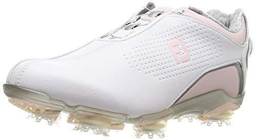 [フットジョイ] ゴルフシューズ ドライジョイズ Boa フォー ウィメンズ ホワイト/ピンク 23.0 cm W