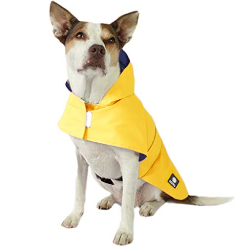American Kennel Club Yellow Dog Raincoat for Pets