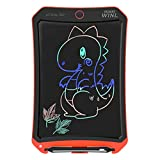 JRD&BS WINL Colorful LCD Electronic Writing Tablet Toys for 4-9Year Old Boys, Teen Boy Girl Birthday Presents Gifts,Boy Gifts 8.5' Handwriting Paper Drawing Tablet at Home and Outdoor(Orange)