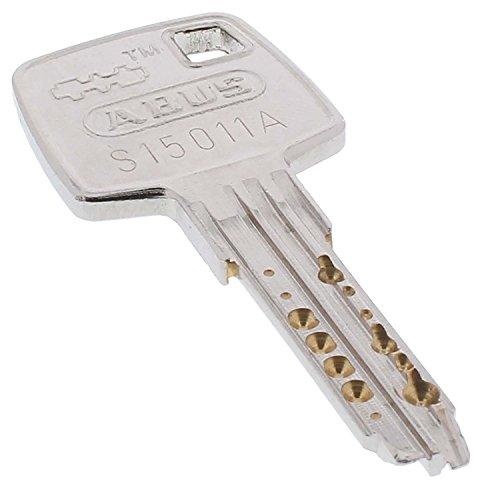 1x zusätzlicher Schlüssel zum gewählten ABUS EC660 Türzylinder, Schließzylinder, Außenzylinder und Vorhangschloss
