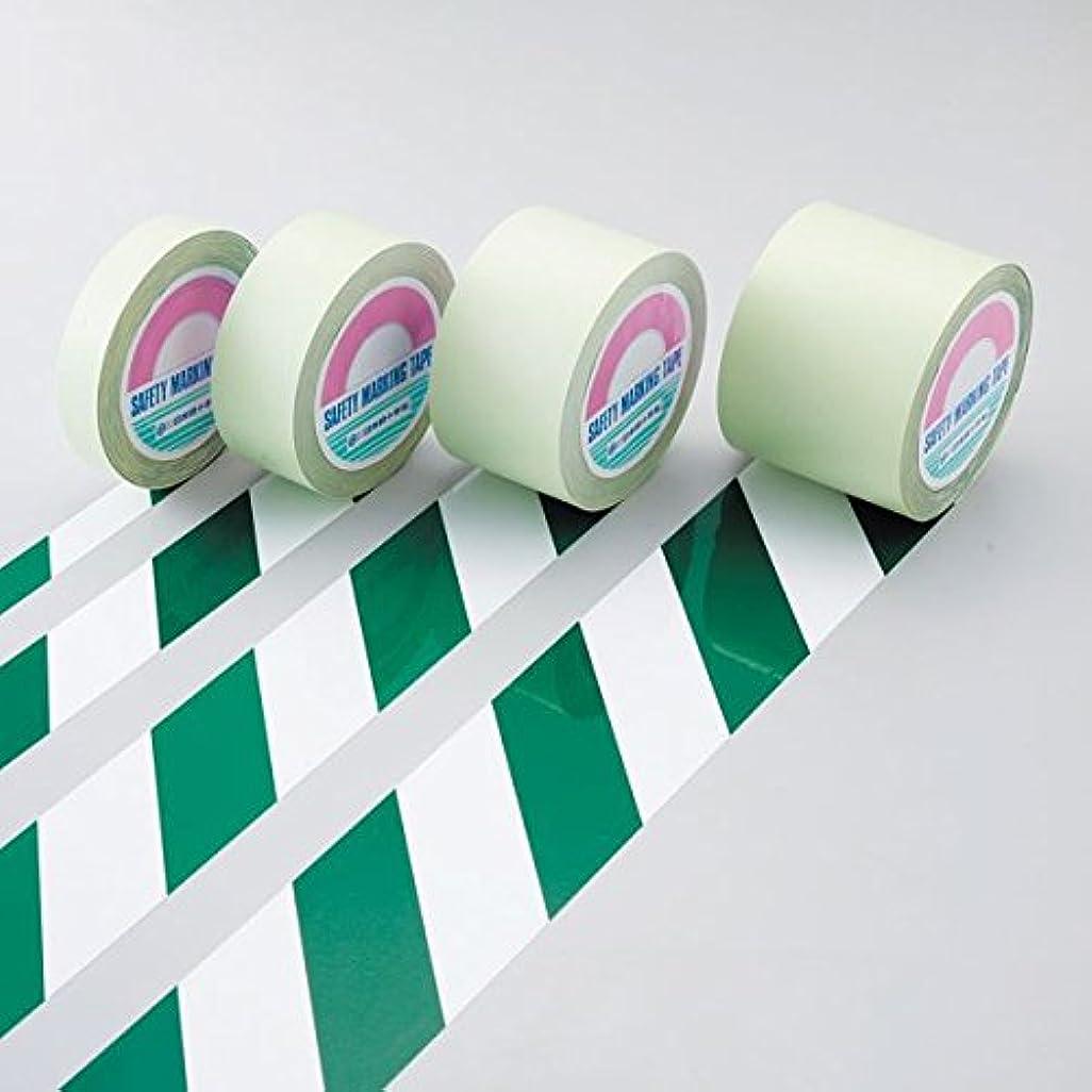 急いで電信嫌悪ガードテープ GT-751WG ■カラー:白/緑 75mm幅