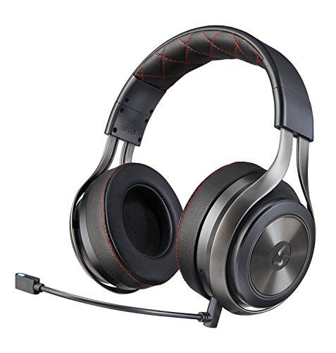 LucidSound LS40 Premium Wireless Gaming Headset, DTS Headphone:X 7.1 Surround Sound - Graphite - PlayStation 4