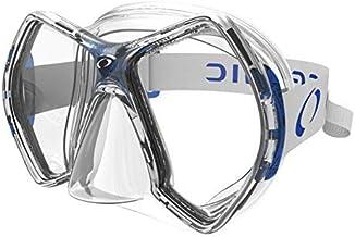 Oceanic Cyanea Ultra Scuba Mask - Clear Lens - Clear/Blue