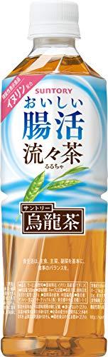 サントリー 流々茶 おいしい腸活 お茶 500ml×24本 [機能性表示食品]