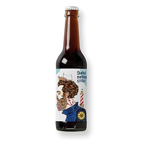 Cerveza Barlovento - Pack 6 unidades - Cervezas Althaia - Cerveza artesana - Premiadas Internacionalmente. Regalos especiales. Botella 33cl. Craft Beer
