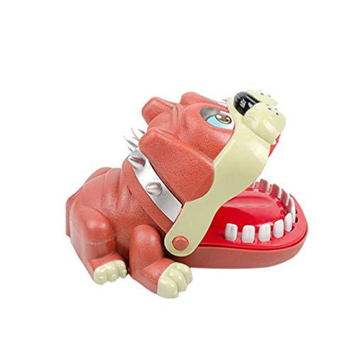 Jsmhh Dog Biting Finger Spielzeug aus Kunststoff Partei Prank Spiel Mund Biss Spielzeug for Ansammlung Partei