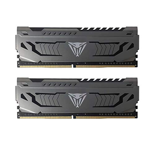 Patriot Viper Steel Series DDR4 8GB (2x4GB) 3200MHz PC4-25600 Dual Memory Kit - PVS48G320C6K