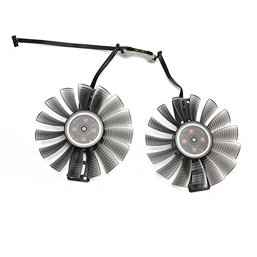 Jinyouqin 90mm Fan für Gainward PALIT GeForce GTX 1060 Super Jetstream GPU Cooler Gainward GeForce GTX1060 Grafikkarten als Ersatz (Blade Color : Fan)