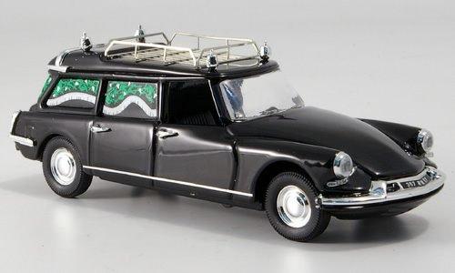 Citroen ID 19, Bestattungswagen, 1963, Modellauto, Fertigmodell, Rio 1:43