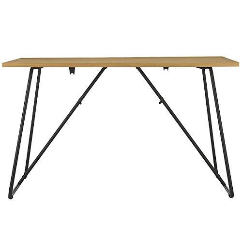 無印良品 折りたたみテーブル・幅120cm・オーク材 幅120×奥行70×高さ72cm 02603960
