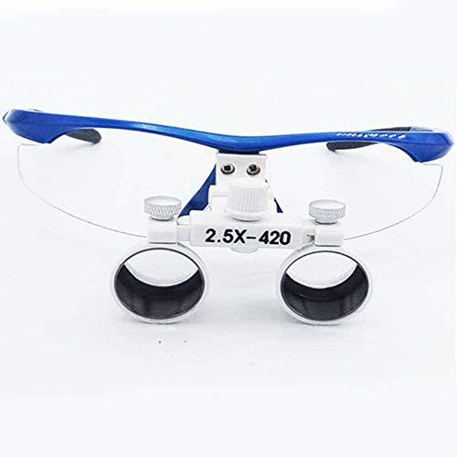 XINTONGSPP Lupa, 2.5X Médicos Mano, Gafas Tipo Anti-Niebla Marco de Plástico Lupa